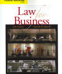 Cengage Advantage Books: Law for Business
