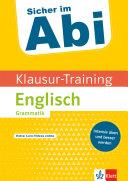 Klausur-Training - Englisch Grammatik