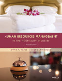 Human Resources Management in the Hospitality Industry, 2nd Edition Book