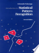 Introduction to Statistical Pattern Recognition