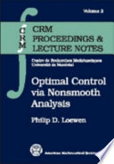 Optimal Control Via Nonsmooth Analysis