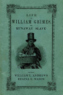 Pdf Life of William Grimes, the Runaway Slave Telecharger
