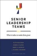 Senior Leadership Teams Book PDF