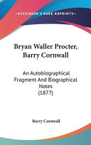 Barry Cornwall Books, Barry Cornwall poetry book