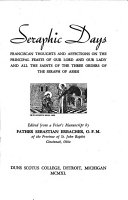 Pdf Seraphic Days