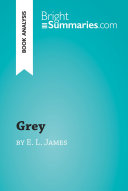 Grey by E  L  James  Book Analysis  Book
