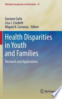 Health Disparities In Youth And Families Book PDF