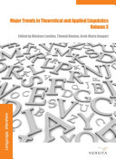 Major Trends in Theoretical and Applied Linguistics 3
