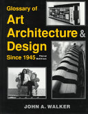 Glossary of Art  Architecture   Design Since 1945