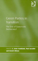 Green Parties in Transition