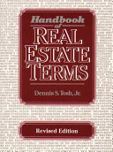 Handbook of Real Estate Terms