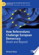 How Referendums Challenge European Democracy Book