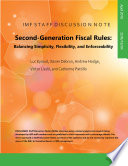 Second Generation Fiscal Rules
