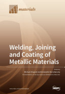 Welding Joining And Coating Of Metallic Materials Book PDF