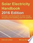 The Solar Electricity Handbook - 2016 Edition