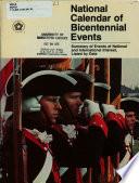 National Calendar of Bicentennial Events