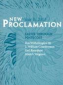 New Proclamation Year B  2003