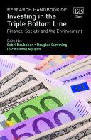 Research Handbook of Investing in the Triple Bottom Line Pdf/ePub eBook