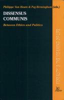 Dissensus Communis
