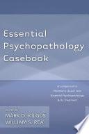 Essential Psychopathology Casebook Book PDF