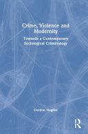 Crime  Violence and Modernity