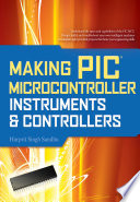 Making Pic Microcontroller Instruments And Controllers Book PDF