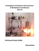 Investigation of Explosion Characteristics of Multiphase Fuel Mixtures with Air