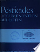 Pesticides Documentation Bulletin