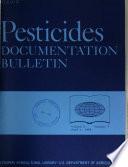 Pesticides Documentation Bulletin Book