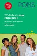 PONS WORTERBUCH EASY ENGLISCH