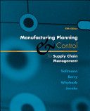 Cover of Manufacturing Planning and Control for Supply Chain Management