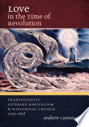 Love in the Time of Revolution Book PDF