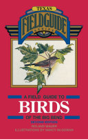 A Field Guide to Birds of the Big Bend [Pdf/ePub] eBook