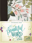 NIV, Beautiful Word Bible, Hardcover, Multi-Color Floral Cloth