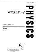 World of Physics  A L