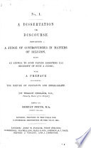 A Discourse Concerning a Judge of Controversies in Matters of Religion  Being an Answer to Some Papers Asserting the Necessity of Such a Judge  Written for the Private Satisfaction of Some Scrupulous Persons  and Now Published for Common Use  With a Preface Concerning the Nature of Certainty and Infallibility  By W  Sherlock