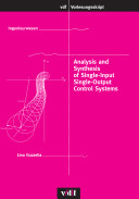 Analysis and Synthesis of Single Input Single Output Control Systems