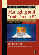 Mike Meyers Comptia A Guide To Managing Troubleshooting Pcs Lab Manual Third Edition Exams 220 701 220 702