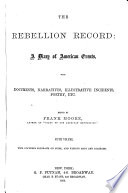 The Rebellion Record  May 62 Oct  62 Book