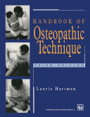 Pdf Handbook of Osteopathic Technique Telecharger