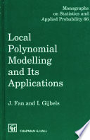 Local Polynomial Modelling And Its Applications Book PDF