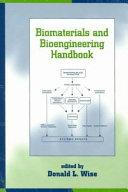 Biomaterials And Bioengineering Handbook