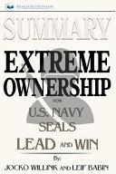 Summary - Extreme Ownership
