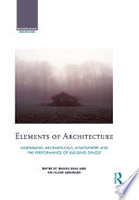 Elements of Architecture Book