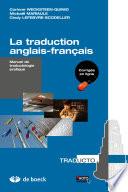 La Traduction Anglais Francais Manuel