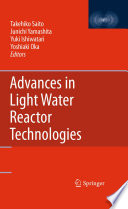 Advances In Light Water Reactor Technologies Book PDF