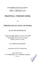 The American Practical Cookery book Book PDF
