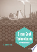 Clean Coal Technologies For Power Generation Book PDF