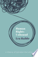 Human Rights Unbound Book