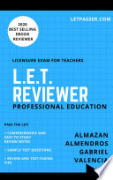 Professional Education LET Reviewer 2018 by LETPasser.com